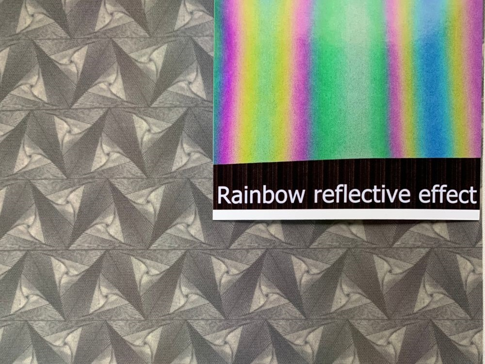 Visible Rainbow Reflective Film